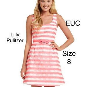 Lilly Pulitzer Joslin fit and flare dress 8